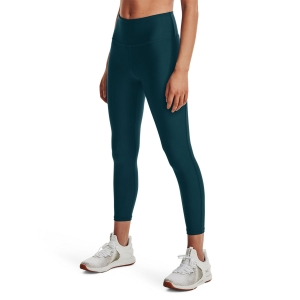 Women's Fitness & Training Pants and Tights Under Armour HeatGear HiRise 7/8 Tights  Dark Cyan/Black 13653350463