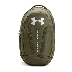 Under Armour Hustle 5.0 Backpack - Marine Od Green/Metallic Silver
