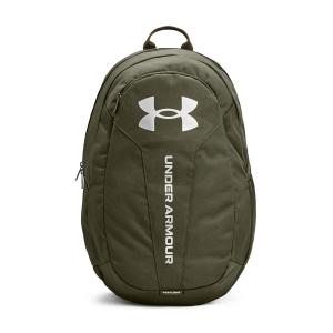 Under Armour Hustle Lite Backpack - Marine Od Green/Metallic Silver