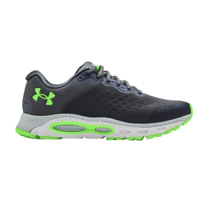 Scarpe Running Neutre Uomo Under Armour Hovr Infinite 3  Pitch Gray/Halo Gray/Hyper Green 30235400107