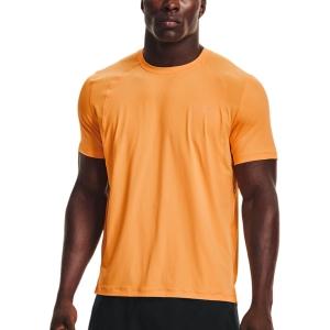 Under Armour IsoChill Run 200 T-Shirt - Omega Orange/Reflective