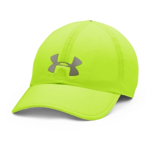 Hats & Visors Under Armour Shadow Cap  Hyper Green/Pitch Gray/Reflective 13514630389