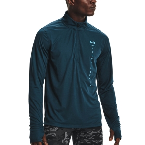 Under Armour Speed Stride Shock Maglia - Blue Note/Reflective