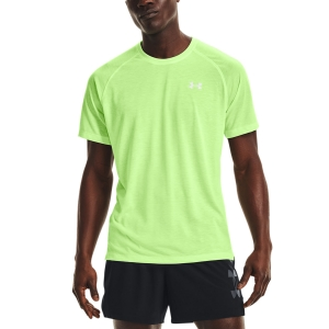 Camisetas Running Hombre Under Armour Streaker Camiseta  Summer Lime/Reflective 13614690162