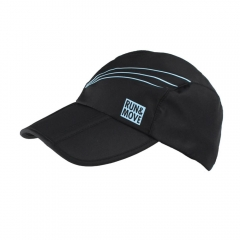 Hats & Visors Run and Move Function Cap  Black RM00538