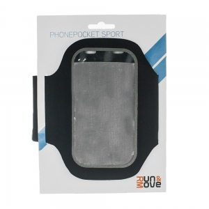 Fascia Porta Smartphone Run and Move Sport Phonepocket  Black RM00541