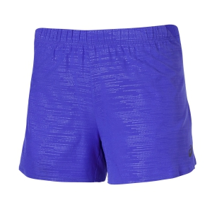 "Pantaloncini Running Donna Asics Elite 3"" Short  Blue 129895.8091"