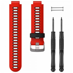 Sport Watche Spare Band Garmin Replacement Band for Forerunner 735XT  Red/Black 010112510N