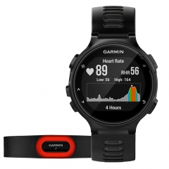 Garmin Forerunner 735XT Run Bundle - Black/Grey