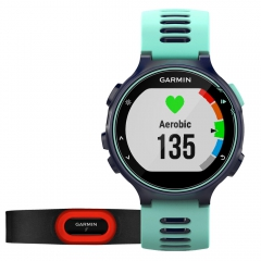 Garmin Forerunner 735XT Run Bundle - Turquoise/Navy