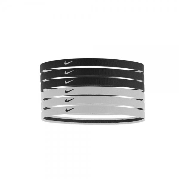 Nike Swoosh Sport Headbands 2.0 x6 - Black White N.JN.D6. 95bf6bfddc7