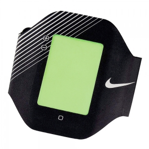 Running Armband Nike Elite Performance Arm Band  Black/Silver N.RN.04.011.OS