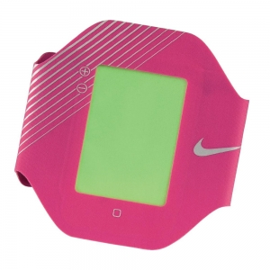 Running Armband Nike Elite Performance Arm Band  Pink/Silver N.RN.10.606.OS