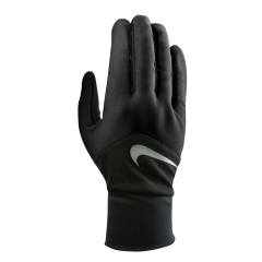 Running gloves Nike DriFit Tempo Run Gloves  Black/Silver N.RG.G6.003