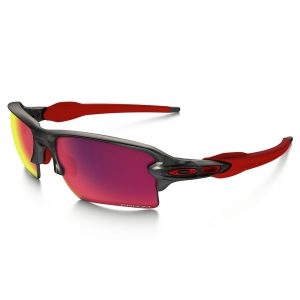 Oakley Flak 2.0 XL Glasses - Matte Gray Smok/Prizm Road