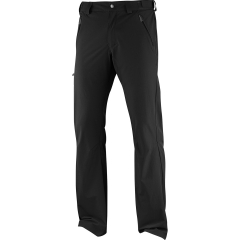 Men's Outdoor Trousers Salomon Wayfarer Pants  Black L39312500