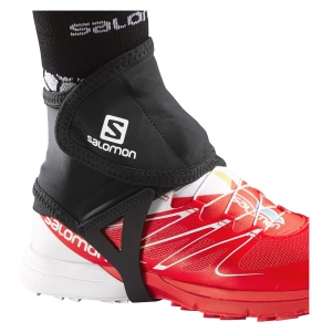 Running Accessories Salomon Trail Gaiters Low  Black L32916600