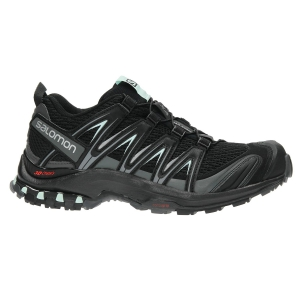 Women's Trail Running Shoes Salomon XA PRO 3D  Black/Grey L39326900