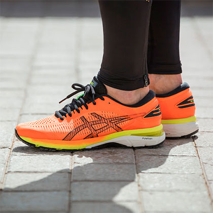 Asics Gel KayanoComfort and stability over long distances