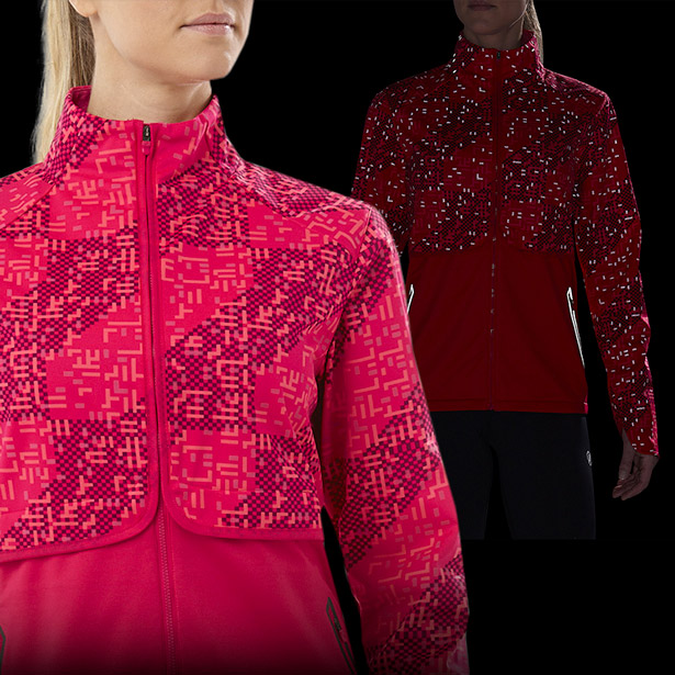 Woman Reflective Running Jacket