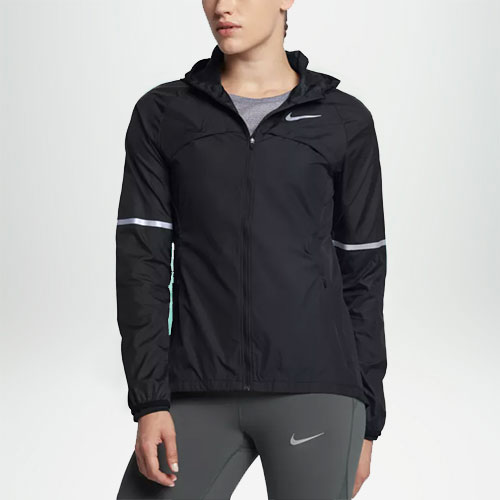 Reflective Jackets  Night runner? Make yourself visible in the dark with the fabrics covered with special reflective prints.