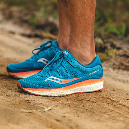 Saucony Triumph ISO 5 The top of comfort
